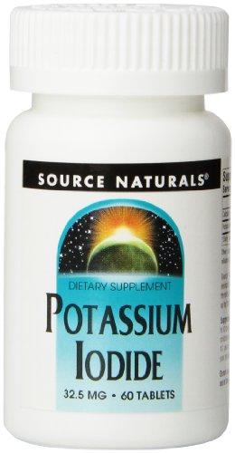 Source Naturals, Kaliumiodid, 32.5 mg x60Tabs