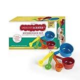 Kinderleichte Becherküche Becher-Set 5 Messbecher in verschiedenen Größen passend zu Allen Editionen
