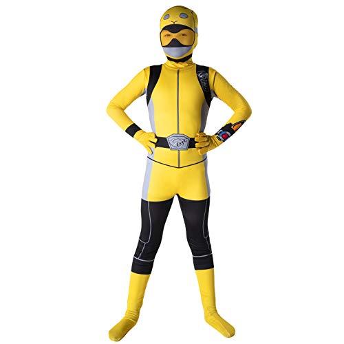 Morphsuits Ufficiale Bambini Potenza Giallo Rangers Beast morphers Costume - Grande (età 10-12)