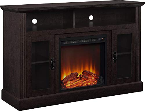 Ameriwood Home Chicago Electric Fireplace TV Console for TVs up to a 50',...