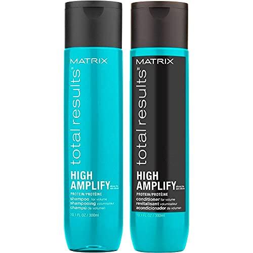 Matrix Total Results - Juego de champú rico en proteínas (300 ml, + acondicionador, 300 ml)