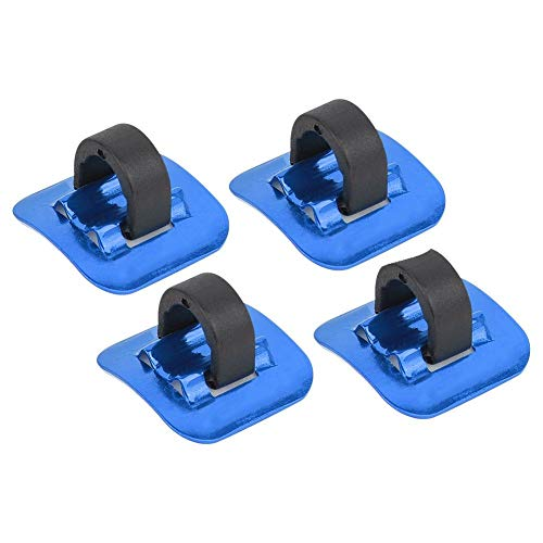 VGEBY 4 Pcs Bike Brake Buckle, Bike C Clips Housing Hose Guide Clamps Bicycle Brake Cable Tube Guide Shifter Adapter(Blue)