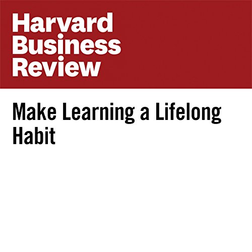 Make Learning a Lifelong Habit audiobook cover art