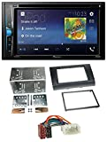 caraudio24 Pioneer AVH-A200BT USB DVD 2DIN Bluetooth CD MP3 Autoradio für Suzuki Swift (2005-2010)