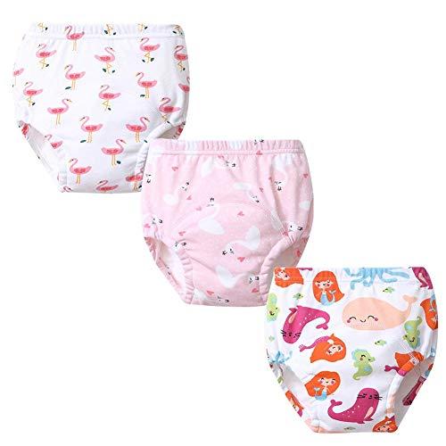 G-Kids G-Kids Unisex Baby Kleinkind Trainerhosen Training Pants Windelhöschen Unterhose Waschbare Lernwindel Töpfchentraining 3PCS A 80