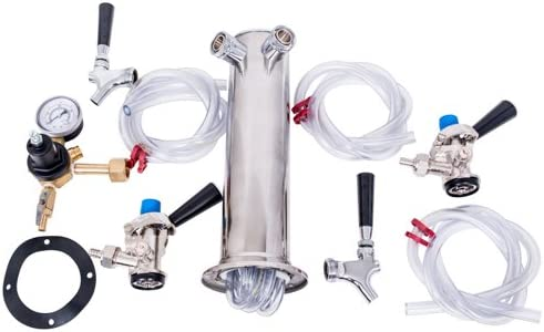low-pricing TapRite Free shipping on posting reviews Kegerator Tower Conversion Kit Tap for Configuratio Dual