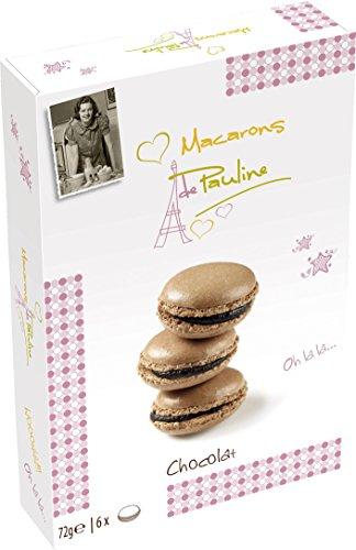 Macarons de Pauline Schokolade