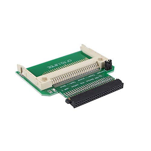 Futheda CF auf 50 Pin 1,8 IDE Adapter CF Compact Flash-Speicherkarte auf 50-polige 1,8 Zoll IDE bootfähige Festplatte SSD-Konverter Adapter ersetzen
