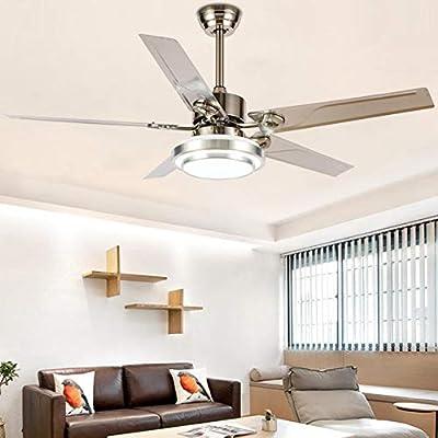 52'' Modern Ceiling Fan with Light LED ...