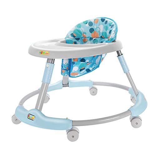 La andadera multifunción Baby Walker Puede Sentarse en un Andador Plegable para niños FANJIANI (Color : A)