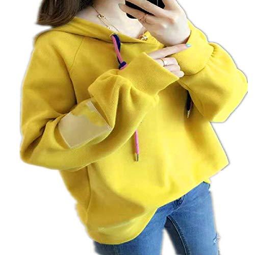 Sweat à Capuche étudiant Sauvage Version coréenne 2 Printemps et Automne Nouvelle Couverture lâche Pull Style collège Femmes marée