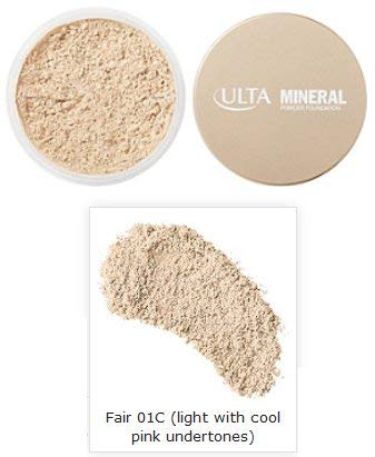 ULTA Mineral Powder Foundation in Fair 01C (light with cool pink undertones)