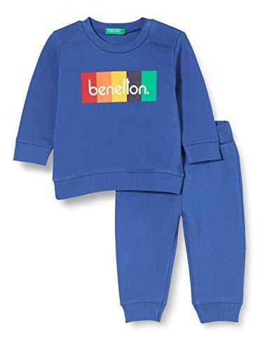 United Colors of Benetton (Z6ERJ Comp(Maglia+Pant) Pantalón, Navega por La Web 19r, 82 para Niños