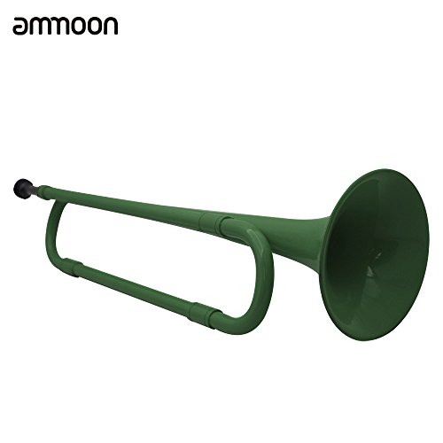 ammoon B Flat Bugle Cavalry Trumpet Environmentally Friendly Plastic with...