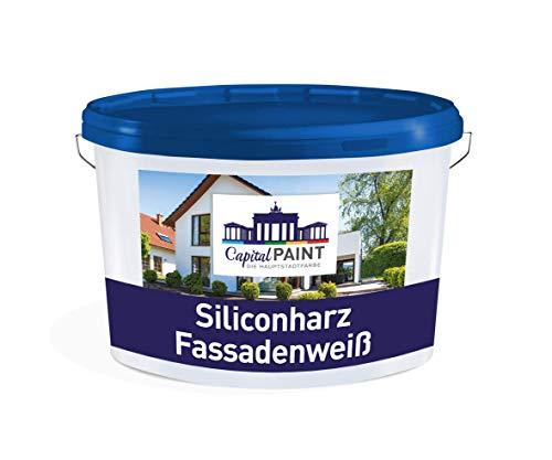 Capital Paint Siliconharz Fassaden weiß 10 Liter