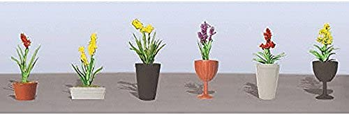 tienda en linea Flowering Potted Plants Plants Plants Assortment 2, 1-1 2 (6) by JTT Scenery Products  hasta un 70% de descuento