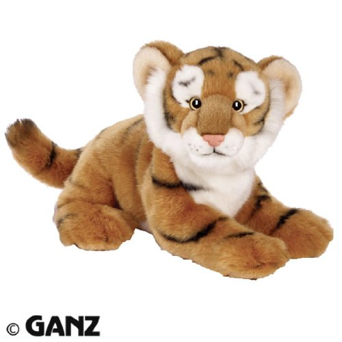 Webkinz Signature Deluxe Plush Figure Endangered Bengal Tiger