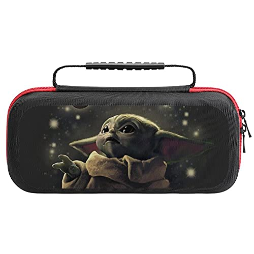 LARDUOR Baby Yo-da Carrying Case Compatible with Switch, Portable Protective Travel Carry Handbag Pouch for Switch Console & Accessories, Travel Pouch Bag
