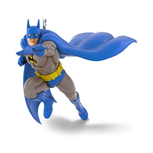 Hallmark Keepsake Mini Christmas Ornament 2018 Year Dated, DC Comics Justice League Batman Miniature, 1.1'