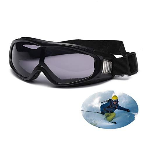 MICHETT - Gafas de esquí con marco de alta calidad para hombre y mujer, protección UV, resistentes al viento y al polvo, para actividades al aire libre, snowboard, esquí