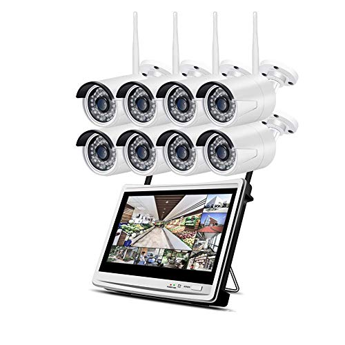 HYLH WLAN Uuml;berwachungskamera Set mit 12