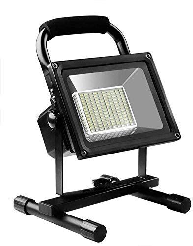 Foco Led Bateria 200w LED LED Luz de Trabajo Recargable Portátil Luz de inundación Potpoted Dimmable Luz de inundación, para al Aire Libre Camping Senderismo Emergencia Reparación de Autos Reparación