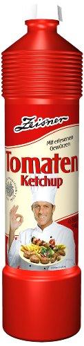 Zeisner Tomaten-Ketchup 800ml/940g Flasche, 6er Pack (6 x 800 ml)