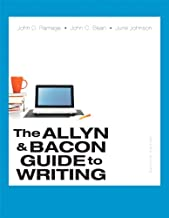 the allyn & bacon guide to writing 7th edition