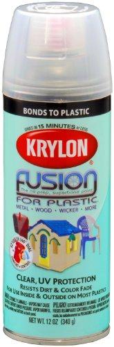 Krylon Fusin Plastic Clear Fusion