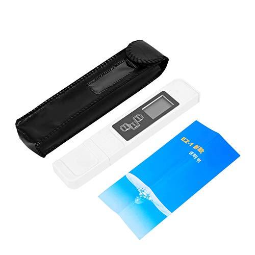 CHICIRIS LCD-Wasserqualitätstester, TDS-Messgerätetester LCD-Wasserqualitätsteststift, 0~9990PPm Industrielles Abwasser für Schwimmbäder