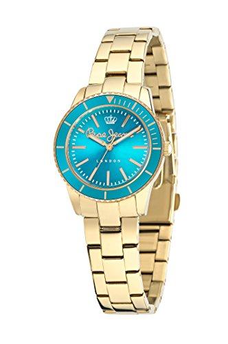 Pepe Jeans Reloj Analógico para Mujer de Cuarzo con Correa en Acero Inoxidable R2353102502