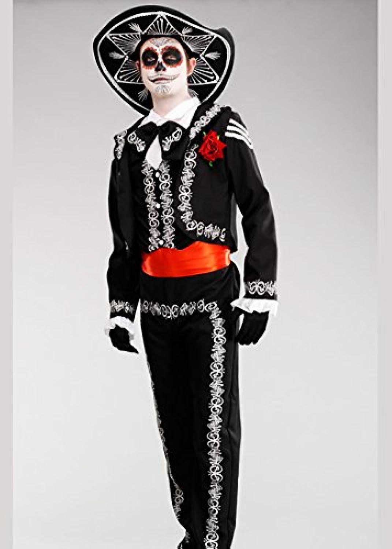 primera reputación de los clientes primero Delights Delights Delights Disfraz de Esqueleto Mexicano del Día de los Muertos Adulto Small (34-36  Chest)  promociones emocionantes