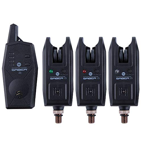 Saber Tackle Unisex's SA14 bite Alarm, Black, medium