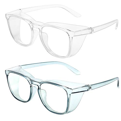 Safety Glasses Anti Fog Goggles Eye Protection Glasses Safety Goggles 2 Pack