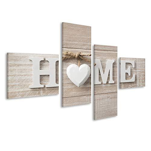 islandburner Quadro Moderno Home Home Benvenuti Stampa su Tela - Quadro x poltrone Salotto Cucina mobili Ufficio casa - Fotografica Formato XXL