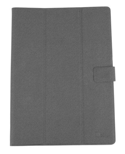 DURAGADGET Funda Ultra Fina Gris para Tablet Lenovo Tab 10 / Teclast X98 Plus II | con Función Atril Y Adhesivo para Una Mayor Sujeción