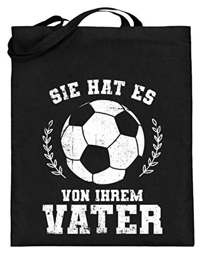 Chorchester U hat Es von Ihr vader voetbal - jute zak (met lange handvatten)