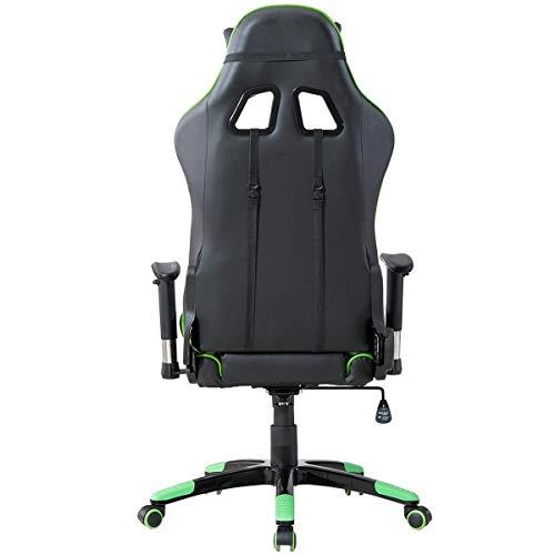 Delman Gaming Stuhl Bürostuhl Racing Bild 4*