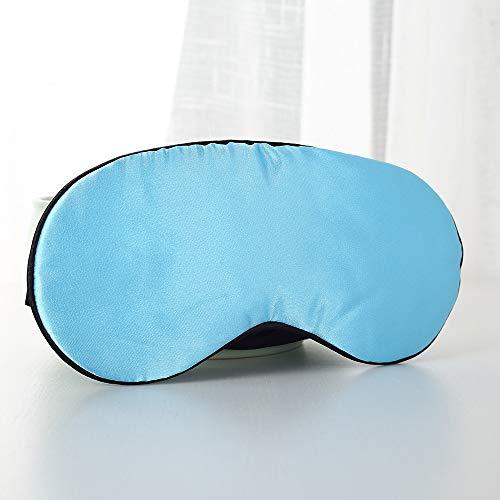 Augenmaske zum Schlafen Seide,Seide Rest - Schlaf - Augen - Schablone,Maske Schlaf natürliche Schlaf Augenmaske,für Männer,Frauen und Kinder n
