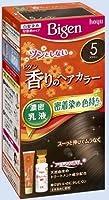 ビゲン 香りのヘアカラー 乳液 5 ブラウン × 10個セット