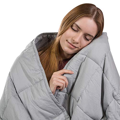 Class Cotton Weighted Blanket for Adult (48X72, 15...