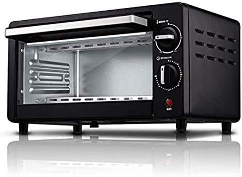 Mini horno de cocina, mini horno. Cocina eléctrica y parrilla, mini horno negro y parrilla, horno multifunción, mini horno eléctrico