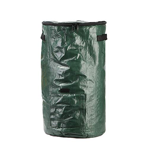 Best Prices! Xiuguai Environmental Home Garden Compostable Organic Bin PE Bag Composters with Lid Ki...