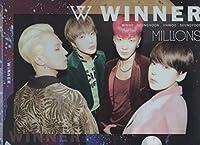 韓国 K-POP ☆WINNER ウィナー☆ クリアファイル A4サイズ クリアホルダー P-292