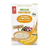Freche Freunde Bio Feines Porridge Banane & Mango