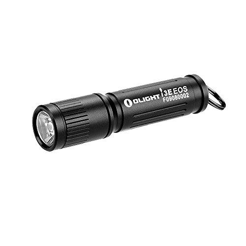 OLIGHT(オーライト) i3E EOS キーホルダーライト クリスマス 懐中電灯 90ルーメン IPX8防水 小型 軽量 ミニ 19.4g 階ねじ込み式スイッチ 日常生活 フラッシュライト 単4電池×1本