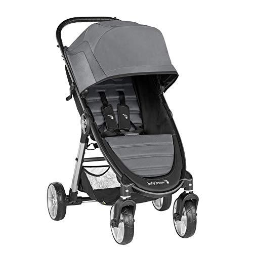 Baby Jogger City Mini 2 de 4 Ruedas Slate. Silla de paseo desde nacimiento hasta 22kg. Color gris