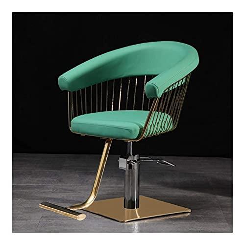 Sillas de salón para peluquero, sillón de peluquero reclin