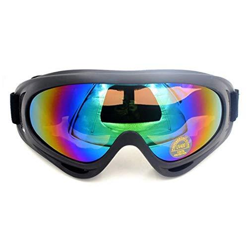 ZPEE Skibrillen Ski Snowboard Goggles Double-Layer-UV-Reduktion Skibrillen Sonnenbrillen Wintersport Produkte Skibrille Goggles Schneesportbrille (Color : C)