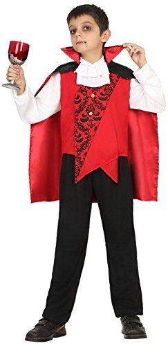 Atosa-18175 Disfraz Vampiro, Color Rojo, 7 a 9 años (18175)